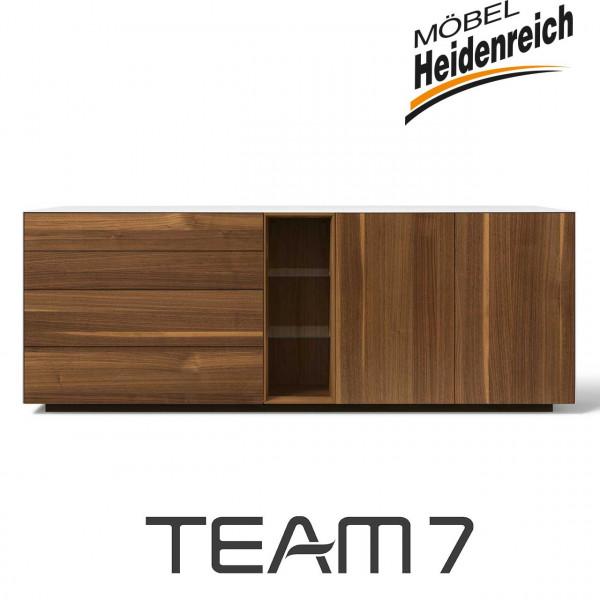 Team7 cubus pure Anrichte 77 Nussbaum Jubiläumsedition