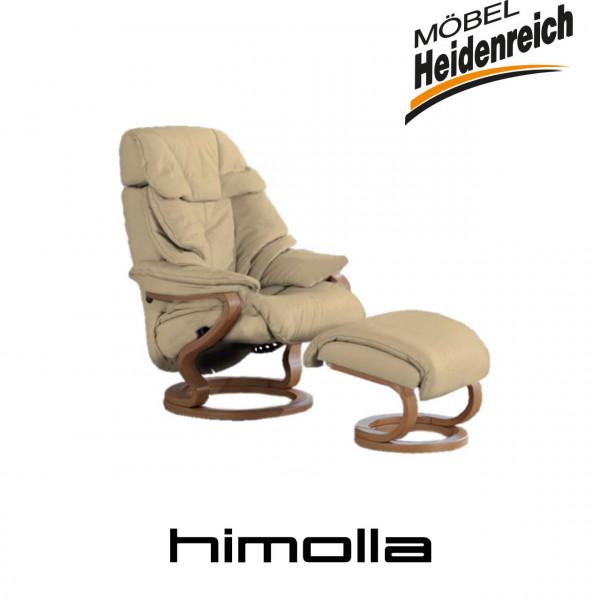 himolla Sessel Zerostress 7124 D44 mit Hocker