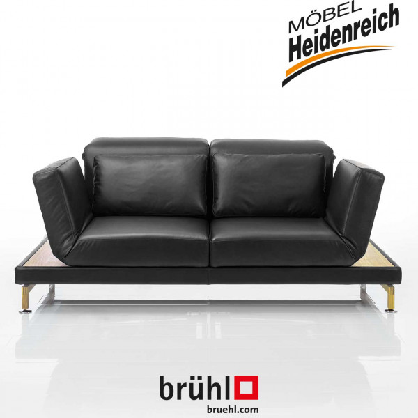 "bruehl – Sofa ""moule"" medium – leder"