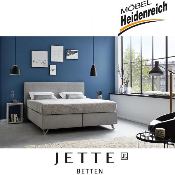 Jette-Betten Boxspringbett stoffbezogener Matratze #103