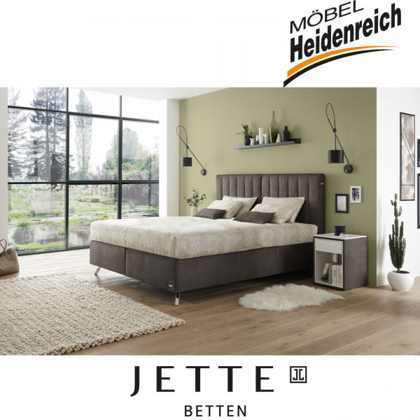 Jette-Betten Boxspringbett stoffbezogener Matratze #107
