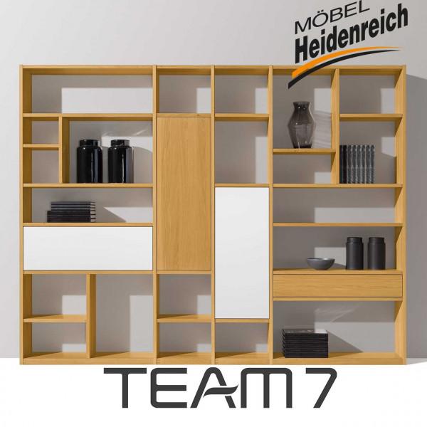 Team7 cubus Regal 105 weiß Jubiläumsedition