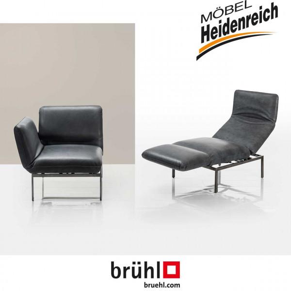 "Brühl – ""roro small"" Liegesessel mit Drehsitz"