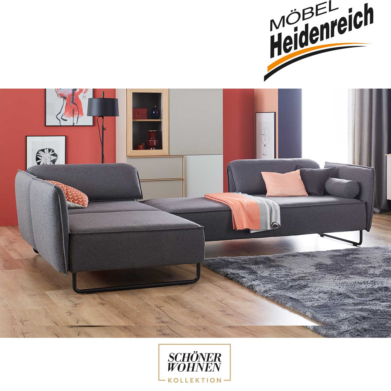 sch ner wohnen sofa vision m bel heidenreich. Black Bedroom Furniture Sets. Home Design Ideas