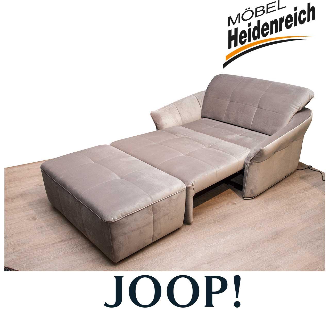 joop sessel overnight mit hocker motorisch grau sessel sale m bel heidenreich. Black Bedroom Furniture Sets. Home Design Ideas
