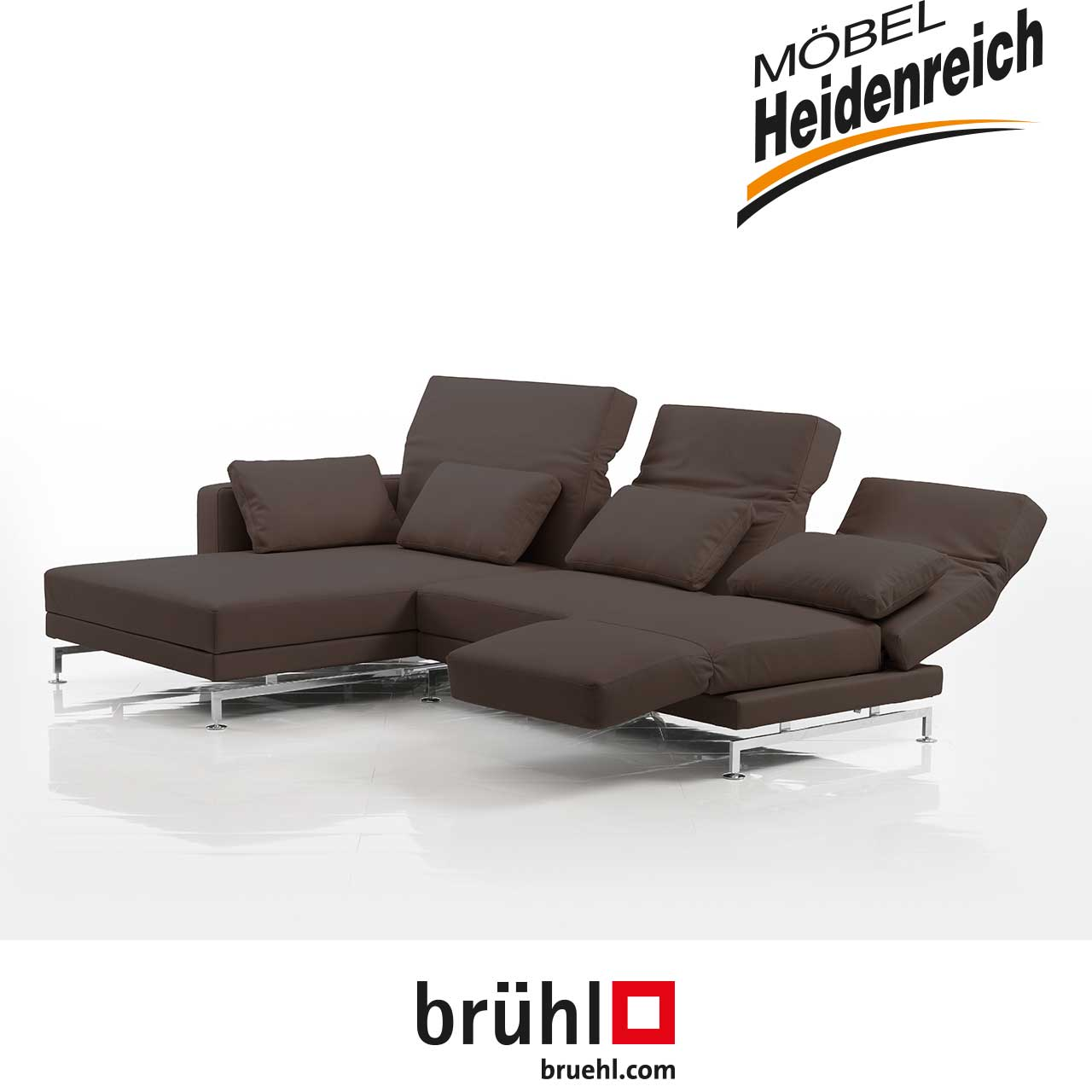 ecksofas br hl marken m bel heidenreich. Black Bedroom Furniture Sets. Home Design Ideas