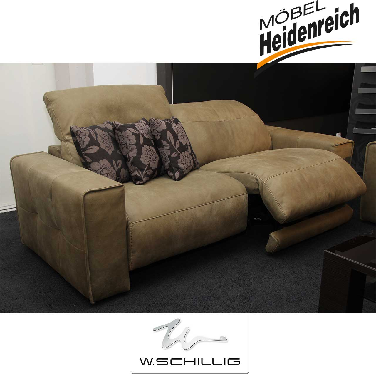 w schillig sofa garnitur giuuseppe black label w schillig marken m bel heidenreich. Black Bedroom Furniture Sets. Home Design Ideas