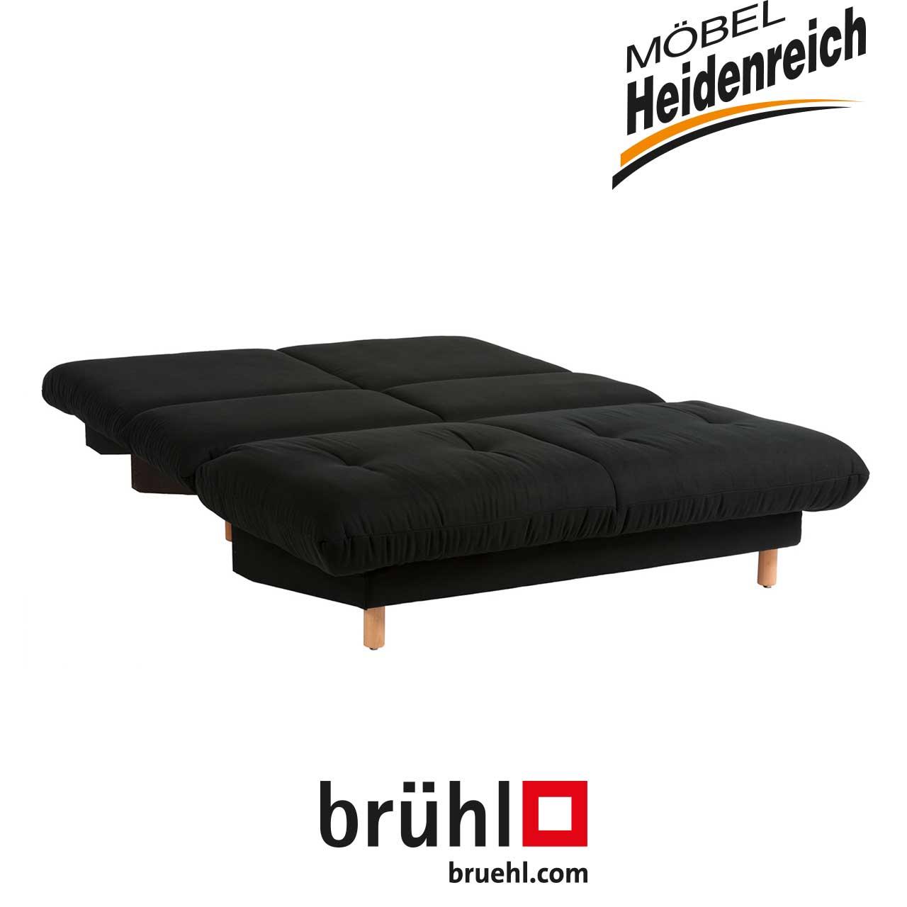 Bruhl Bettsofa Quint Schwarz