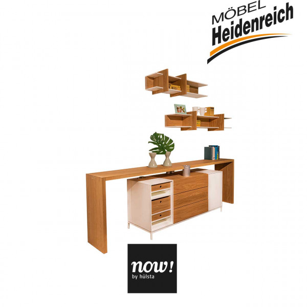 now! by hülsta Sideboard mit Multifunktionstisch