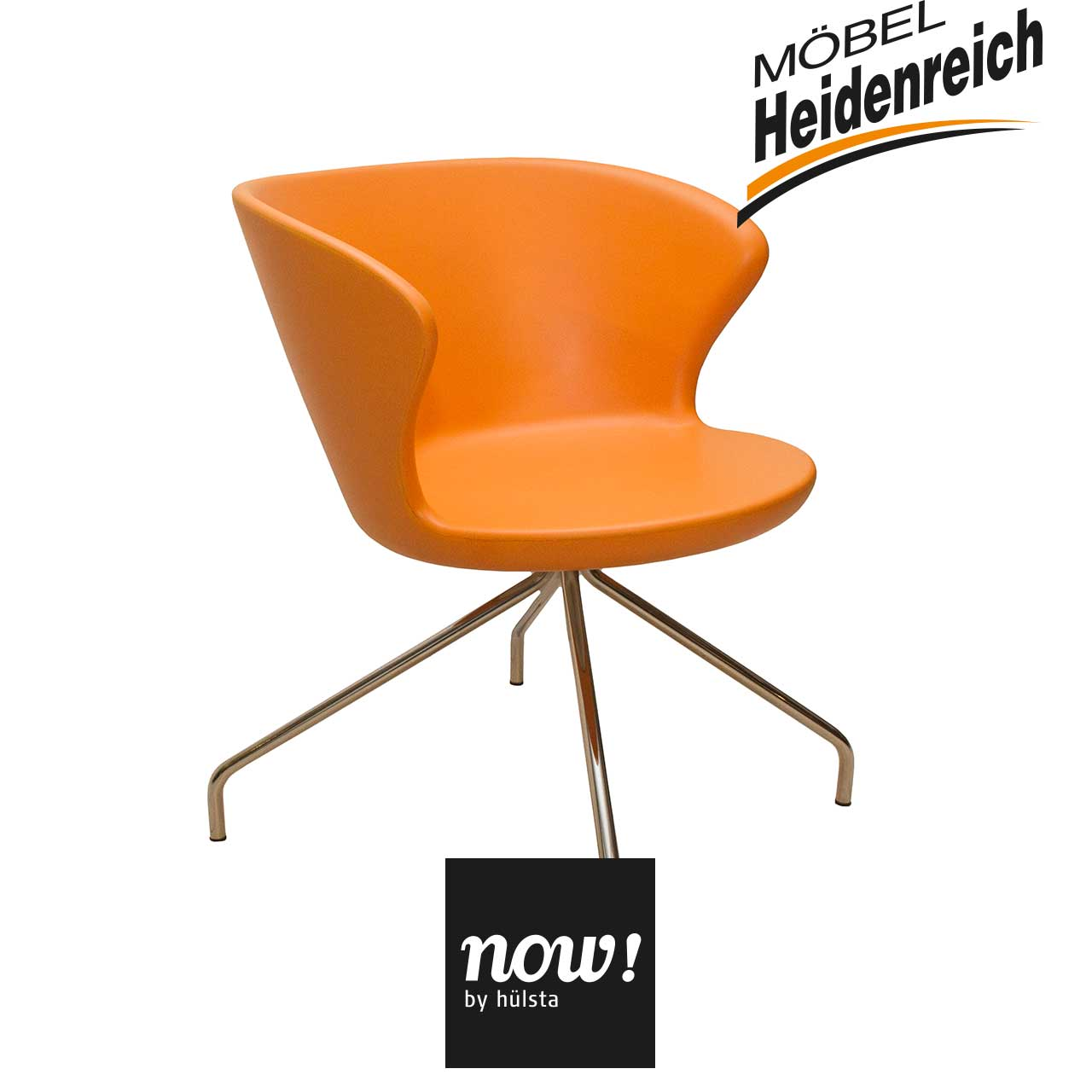now by h lsta now 8 loungesessel orange st hle sale m bel heidenreich. Black Bedroom Furniture Sets. Home Design Ideas