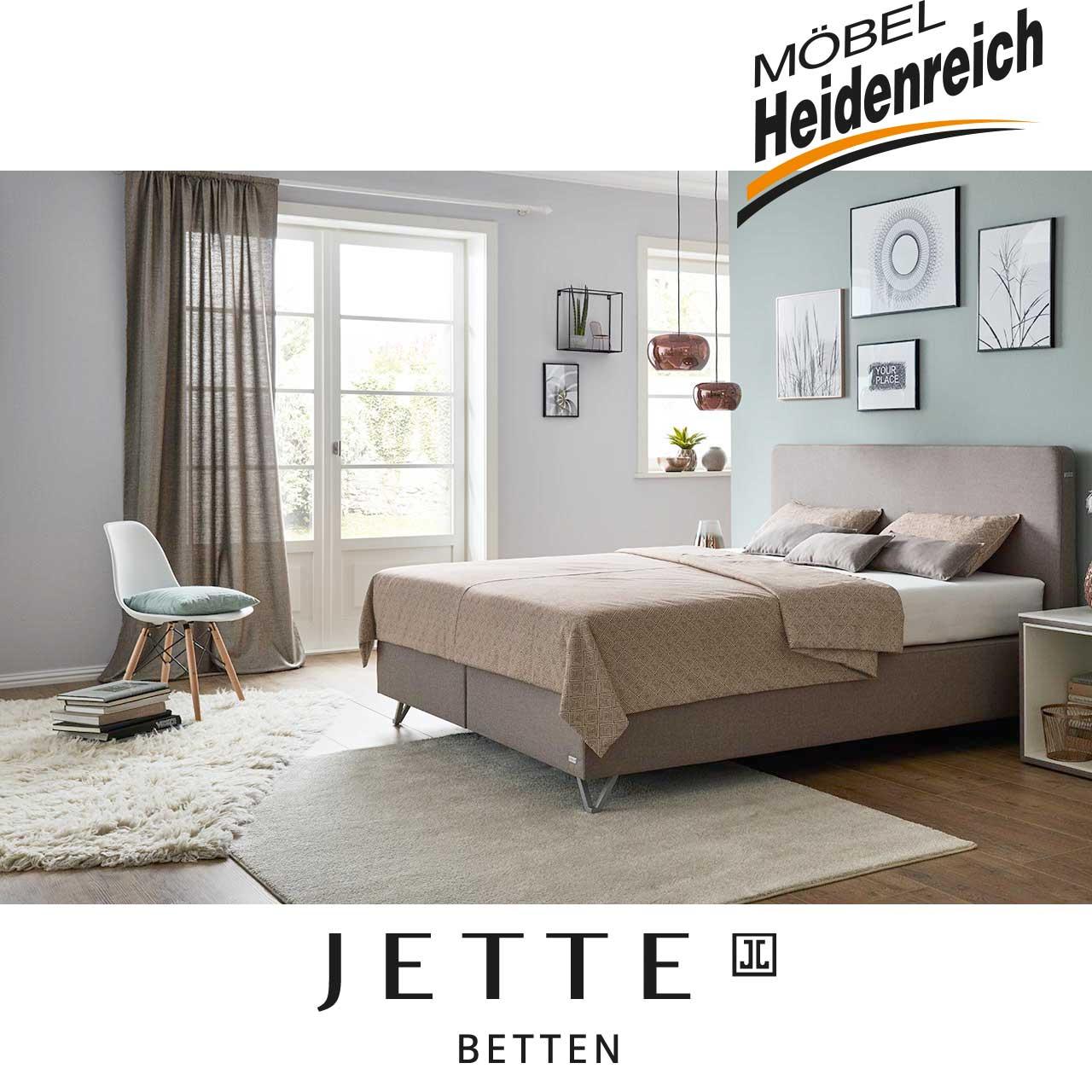 jette betten boxspringbett m bel heidenreich. Black Bedroom Furniture Sets. Home Design Ideas