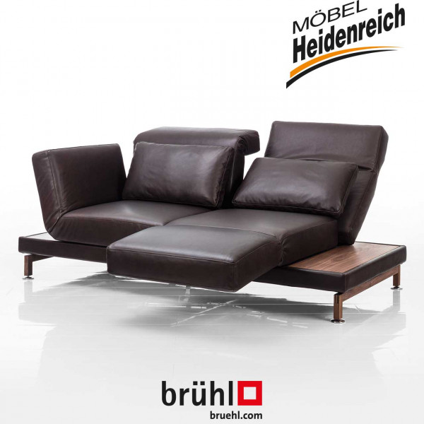"bruehl – Sofa ""moule"" small – leder"