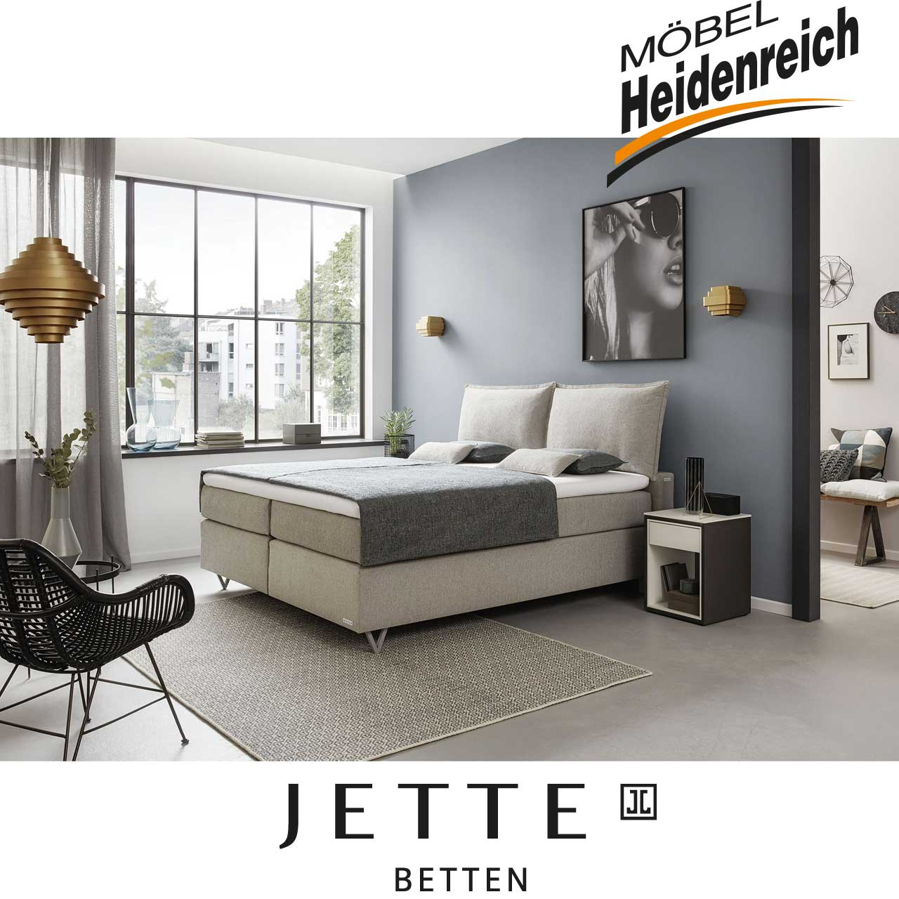 Jette-Betten Boxspringbett Basis #106