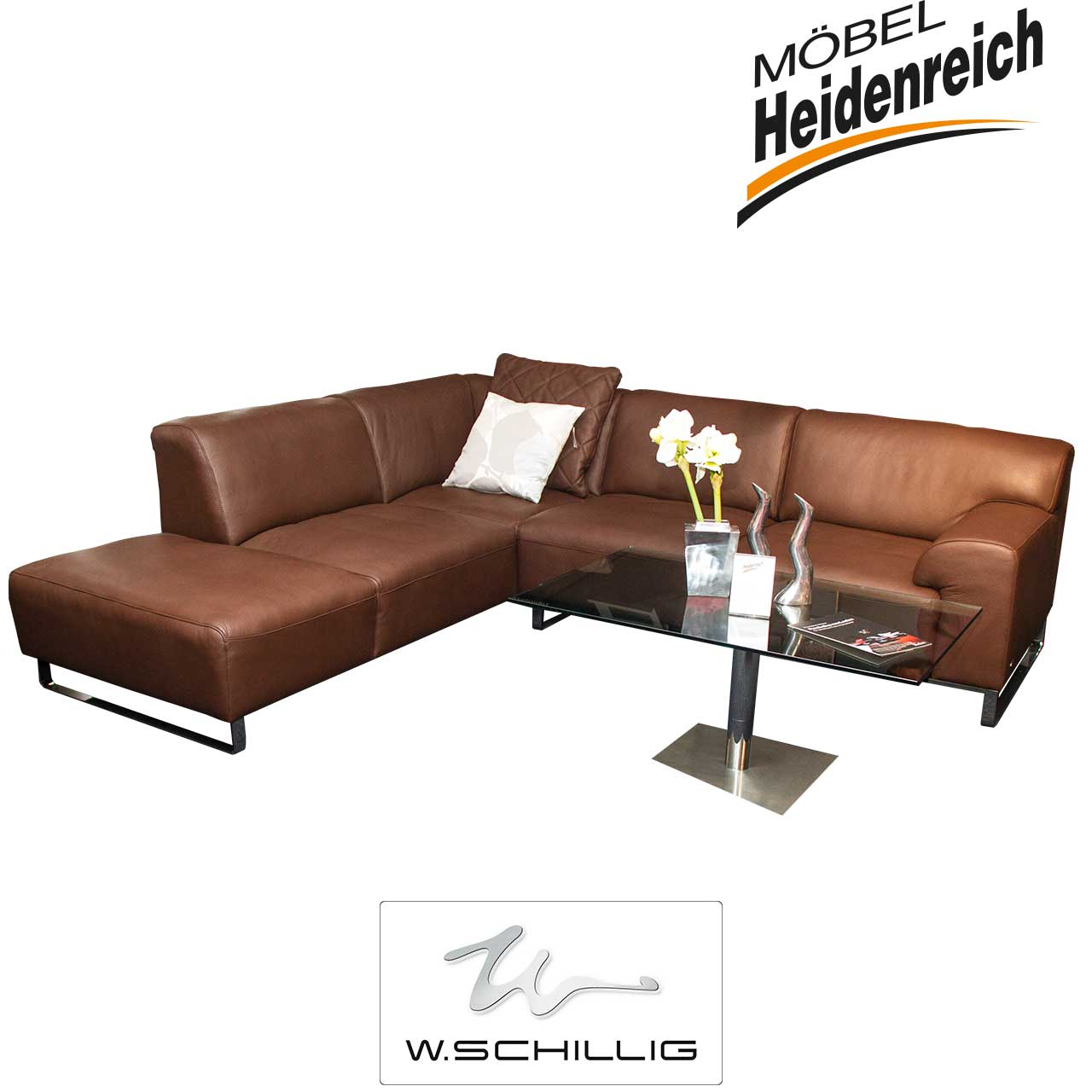 ecksofas m bel m bel heidenreich. Black Bedroom Furniture Sets. Home Design Ideas