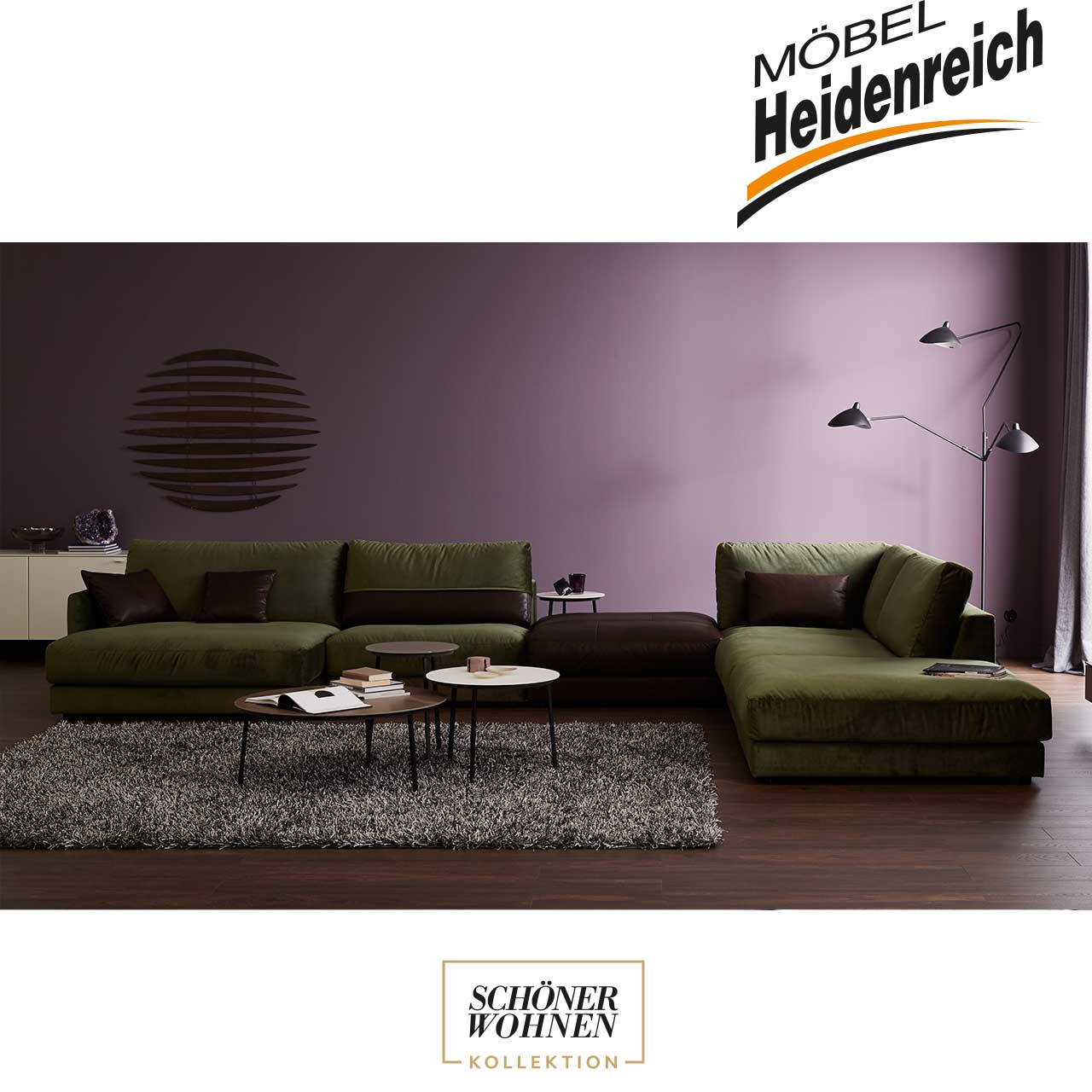 sch ner wohnen ecksofa gabo m bel heidenreich. Black Bedroom Furniture Sets. Home Design Ideas