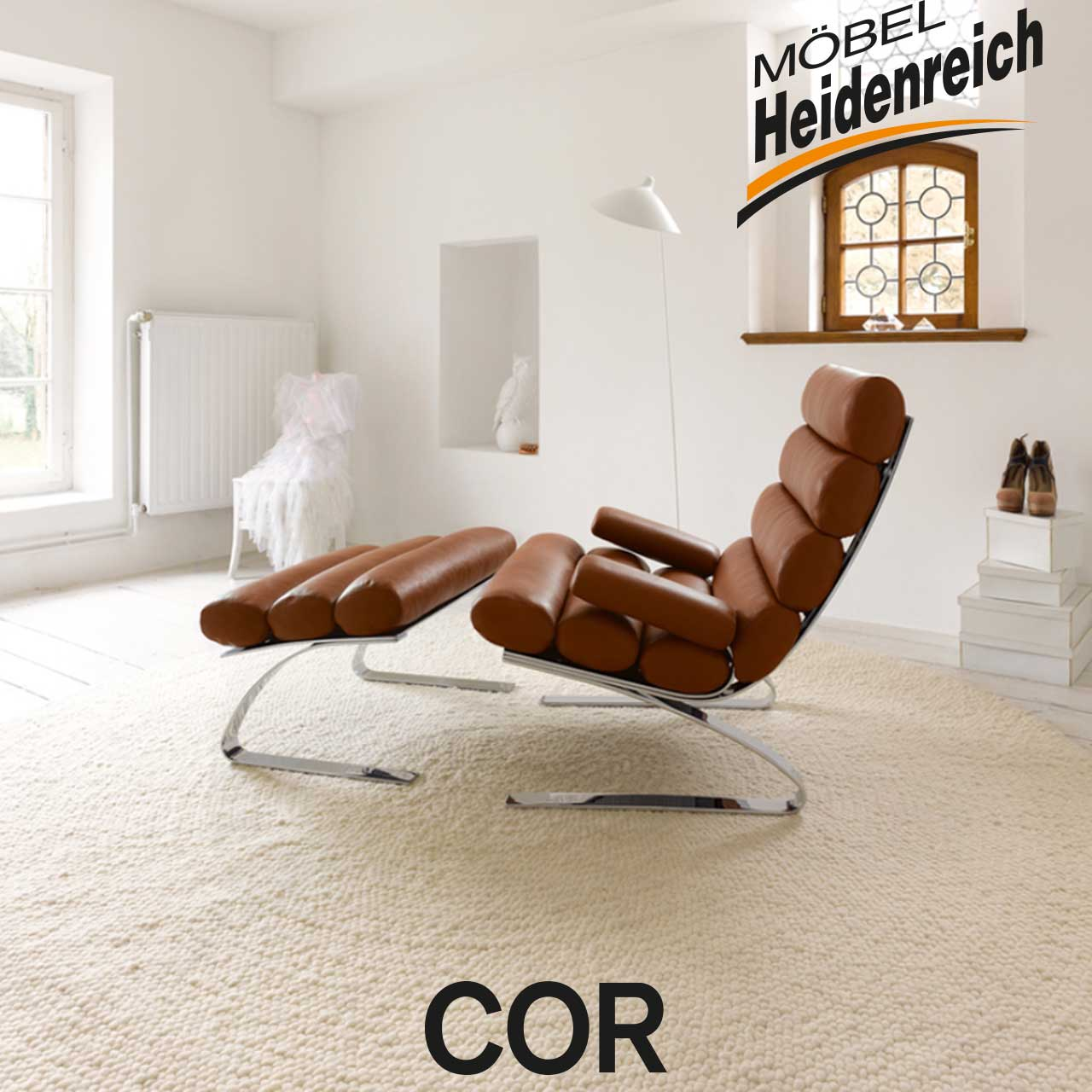 cor sessel sinus m bel heidenreich. Black Bedroom Furniture Sets. Home Design Ideas