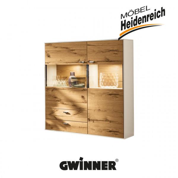 GWINNER Highboard HB8-5 inkl. Beleuchtung