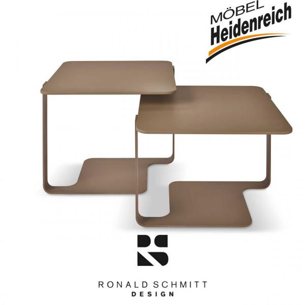 Ronald Schmitt K 136 2-er Set Beistelltisch-Wave