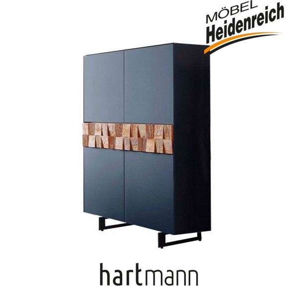 Hartmann Liv Leonardo - Highboard 7120W-6112B inkl. KUFEN