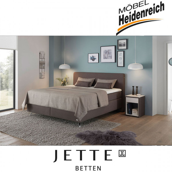 Jette-Betten Boxspringbett stoffbezogener Matratze #101