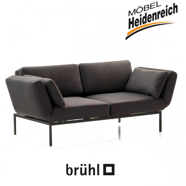 brühl roro/20-soft -Sofa-2 mit Drehsitzen 72005