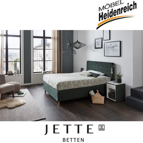 Jette-Betten Boxspringbett stoffbezogener Matratze #105
