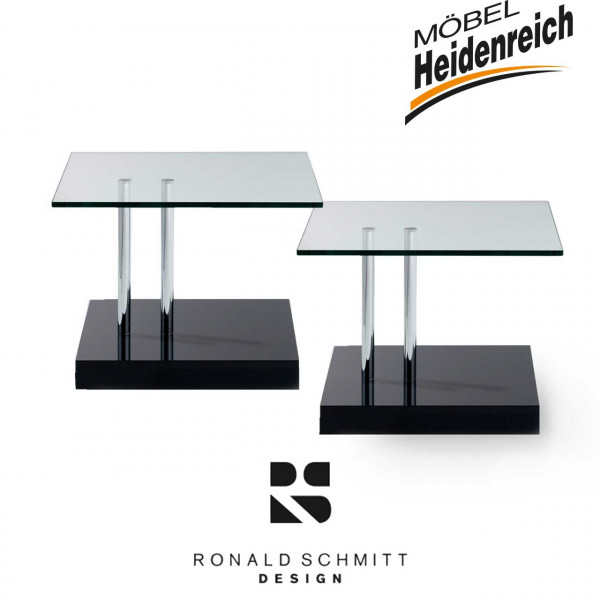Ronald Schmitt - 2-er Set Beistelltisch - K 425 rollbar