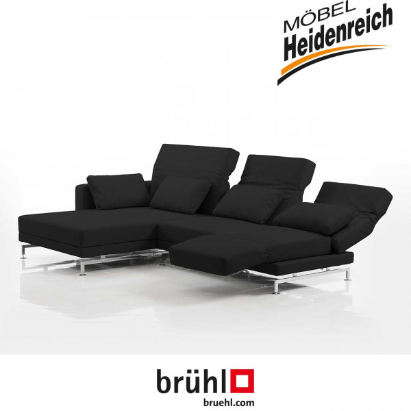 brühl moule-medium - Ecksofa 70138+70123 Leder