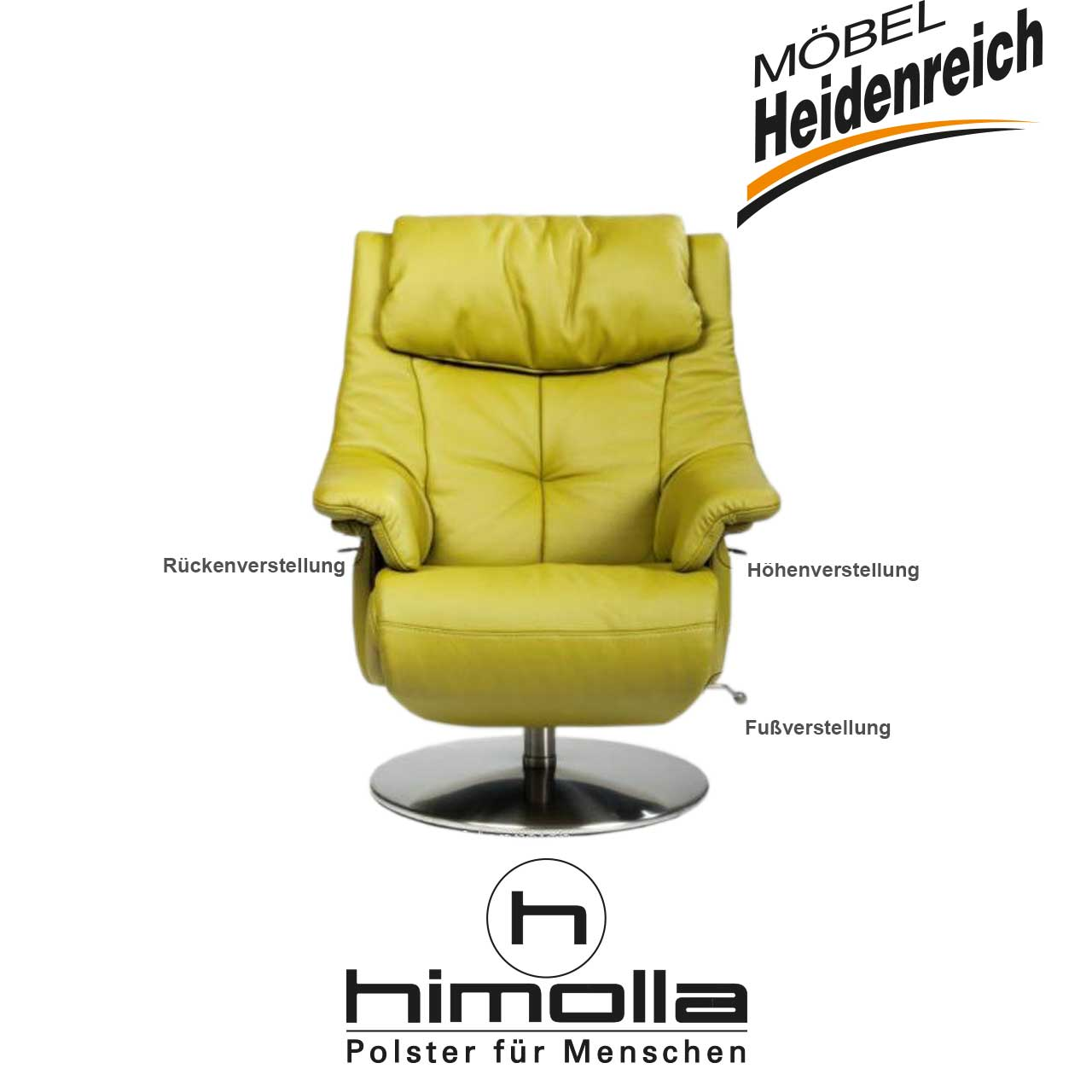 Himolla Sessel Cosyform 7501