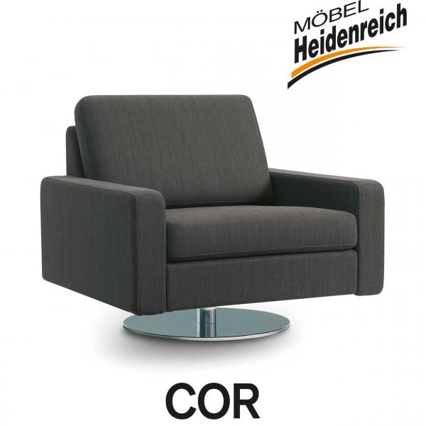COR – Sessel Conseta – Stoff, in 4 Farben