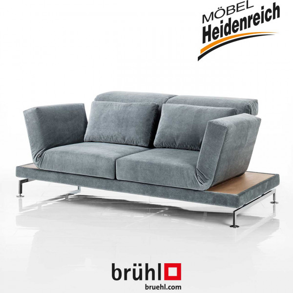 brühl moule-medium - Sofa 70107 Samt