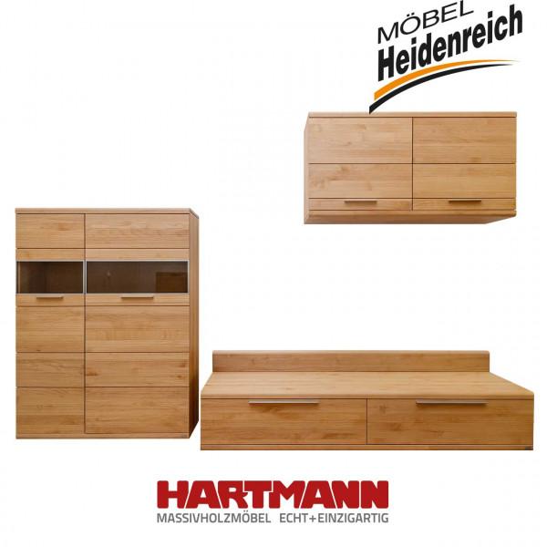 Hartmann Aronda – Wohnwand V1 - Erle