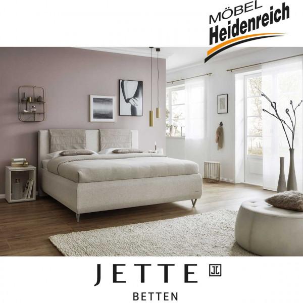 Jette-Betten Boxspringbett mit stoffbezogener Matratze #104