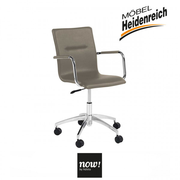 now! by hülsta – home office Drehstuhl B180 – taupe 7792
