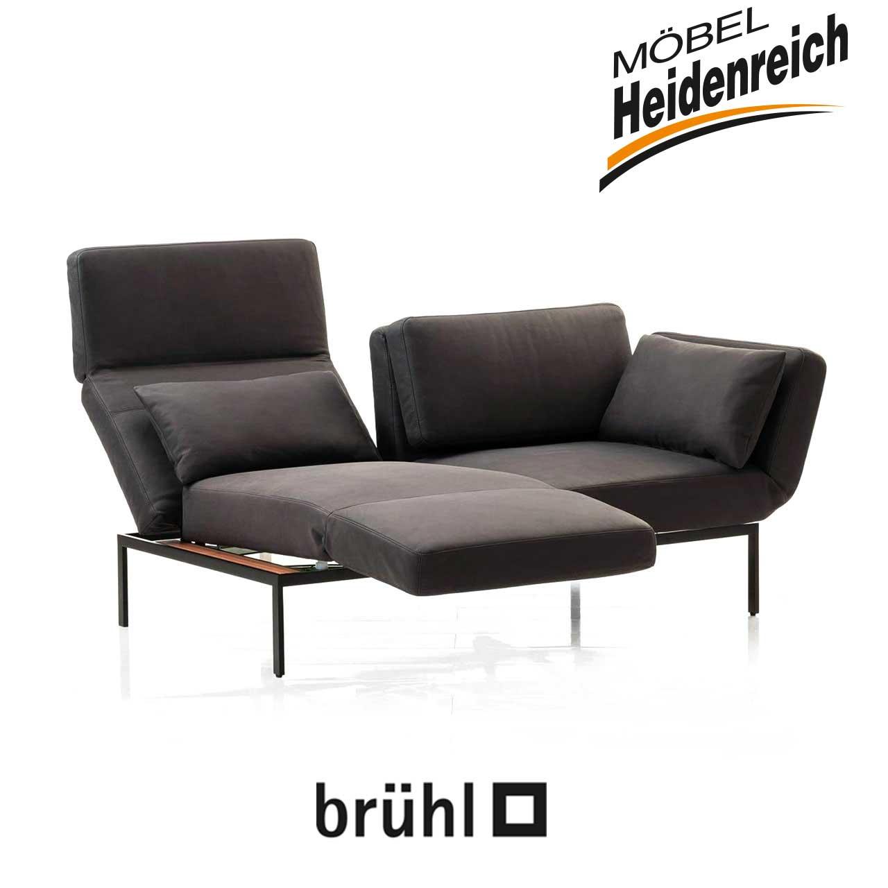 Bruhl Roro 20 Soft Sofa 2 Mit Drehsitzen 72005 Mobel Heidenreich
