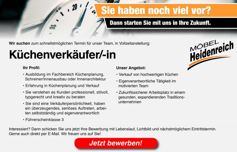 Jobangebote | Möbel Heidenreich