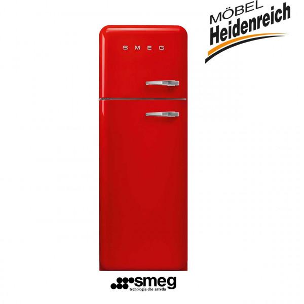 SMEG Standkühlschrank mit Gefrierfach ROT