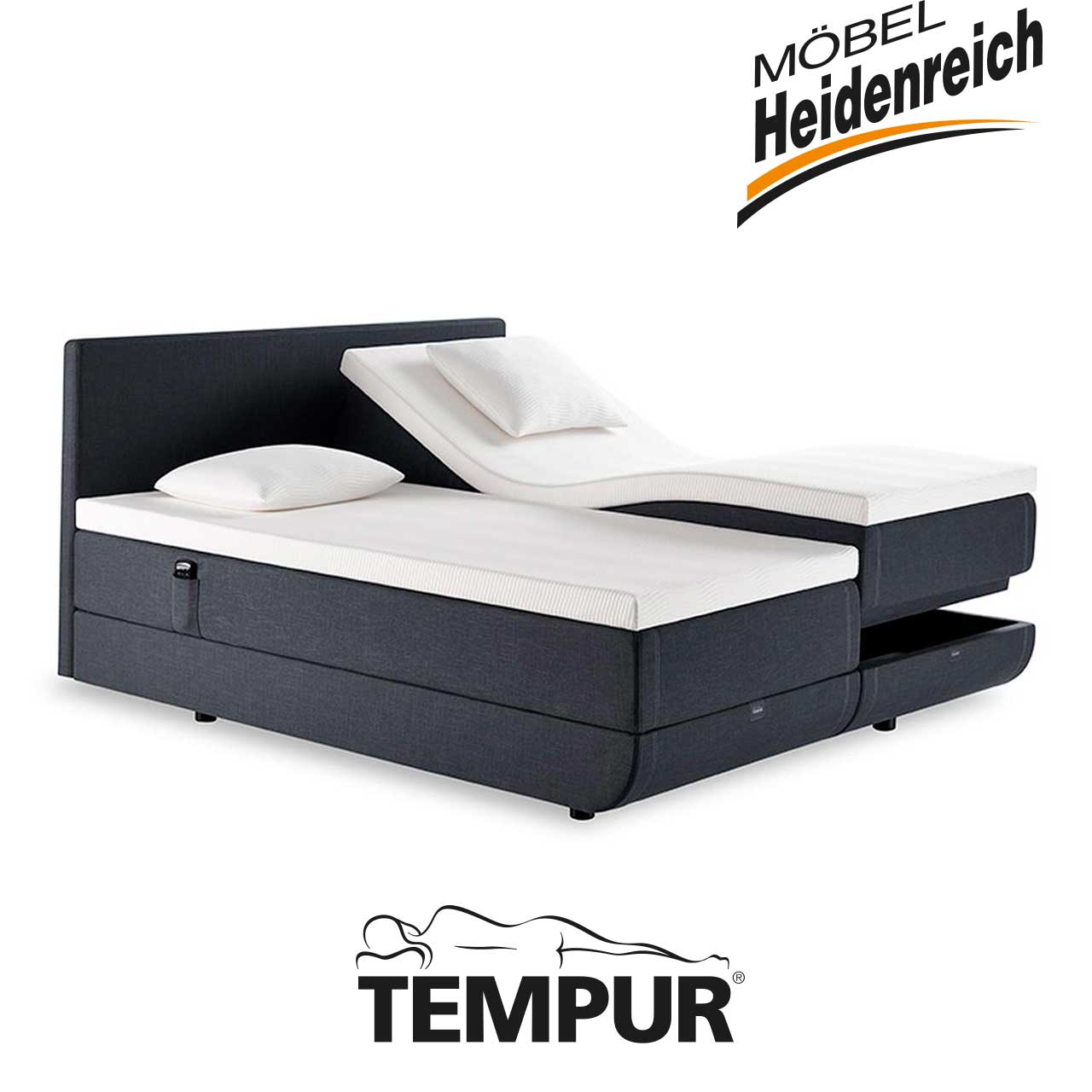 topper tempur marken m bel heidenreich. Black Bedroom Furniture Sets. Home Design Ideas