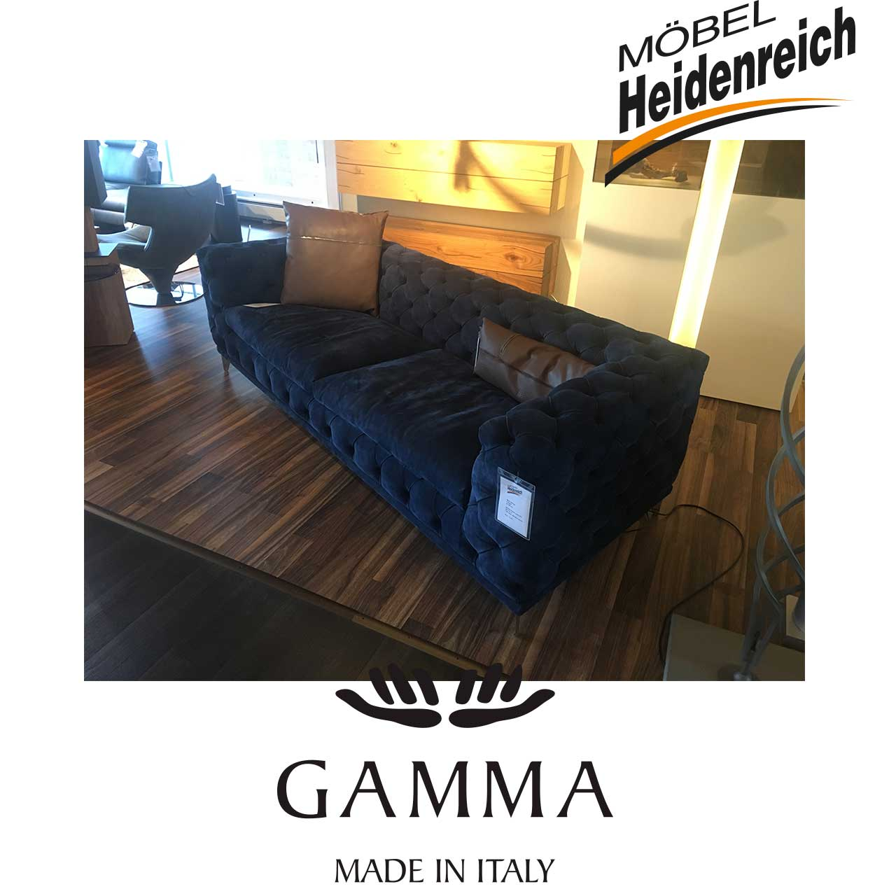 gamma sofa aston sofas garnituren sale m bel heidenreich. Black Bedroom Furniture Sets. Home Design Ideas