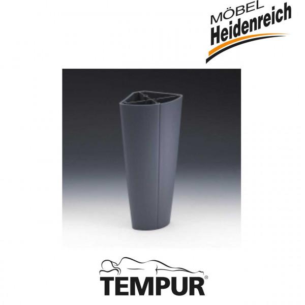 Tempur Dualfuß für Premium Flex Systemrahmen