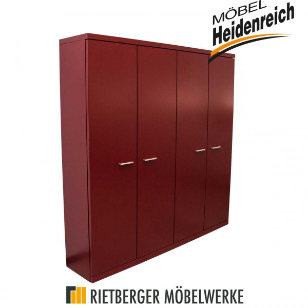 Rietberger - Schuhschrank Celesta, dark red matt