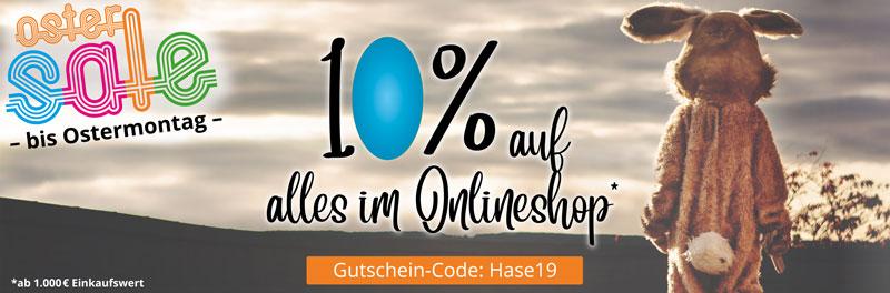 +++ Oster-Rabatt +++ Nur bis Ostermontag +++