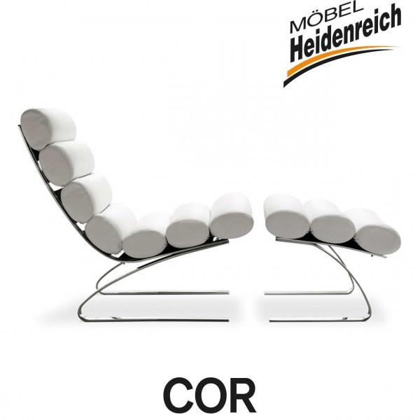 COR – Sessel SINUS – mit Armlehnen