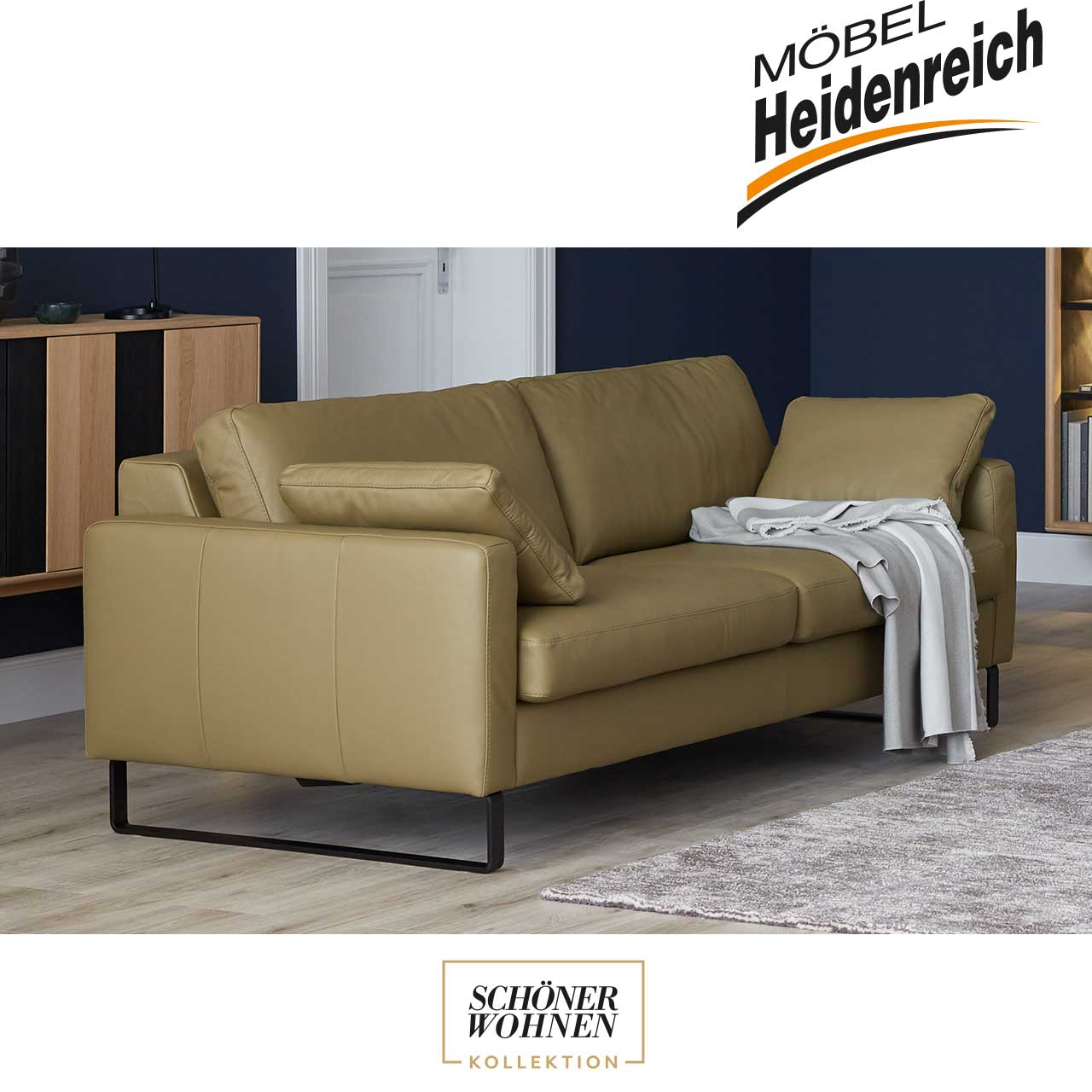 sch ner wohnen sofa timeless m bel heidenreich. Black Bedroom Furniture Sets. Home Design Ideas