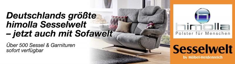 himolla Sesselwelt | Standorte | Möbel Heidenreich