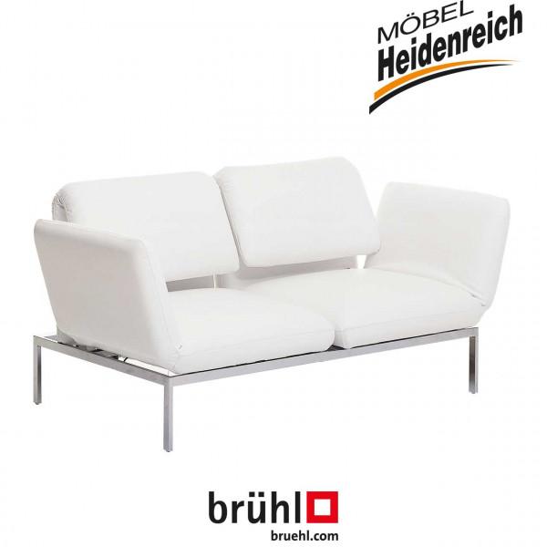brühl roro-medium - Sofa mit 2 Drehsitzen 67005 Leder
