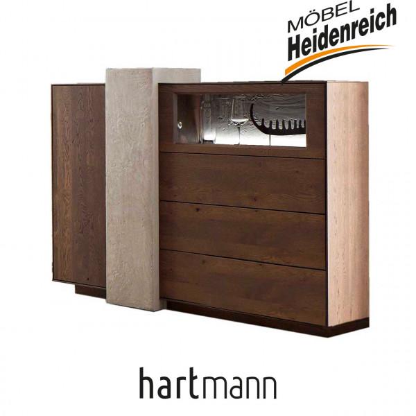 Hartmann Brik - Highboard 7470-6181 INKLUSIVE BELEUCHTUNG