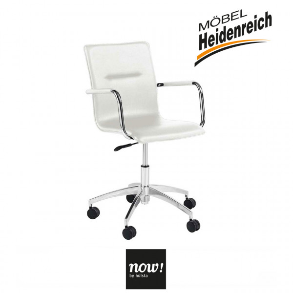 now! by hülsta – home office Drehstuhl B180 – weiss 7792