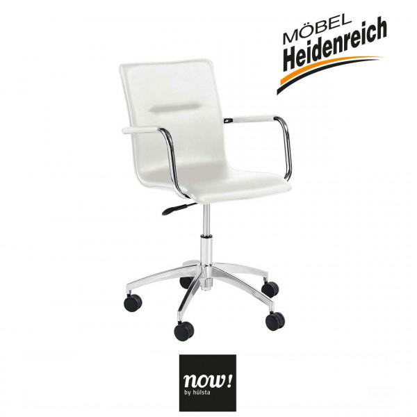now! by hülsta – home office Drehstuhl B180 – weiss 7792
