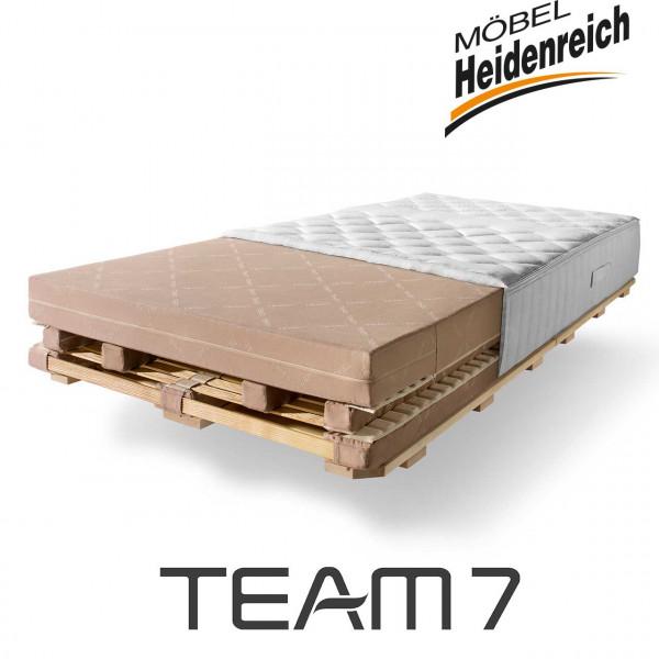 TEAM7 - aos Schlafsystem mit Husse Matratze fest
